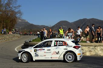 Matteo Dapra, Fabio Andrian (Hyundai i20 R5#11, GDA Communication), CAMPIONATO ITALIANO WRC