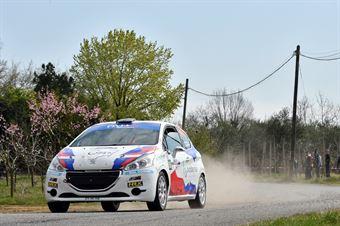 Fabio Farina, Luca Guglielmetti (Peugeot 208 R2 #58, Pintarally Motorsport), CAMPIONATO ITALIANO WRC