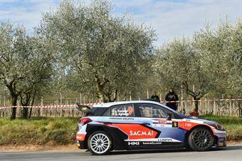 Luigi Fontana, Giovanni Agnese (Hyundai i20 WRC #9, Bluthunder), CAMPIONATO ITALIANO WRC