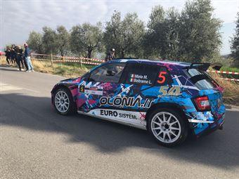 Mauro Miele, Luca Beltrame (Skoda Fabia R5 #5, Giesse Promotion a.s.d.), CAMPIONATO ITALIANO WRC