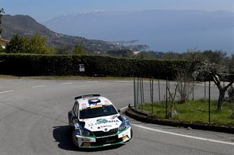 Corrado Pinzano; Marco Zegna (Skoda Fabia R5 #18; Eurospeed), CAMPIONATO ITALIANO WRC