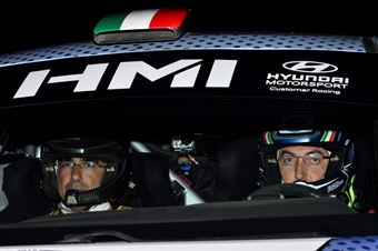 Corrado Fontana, Nicola Arena (Hyundai i20 WRC#1, Bluthunder), CAMPIONATO ITALIANO WRC