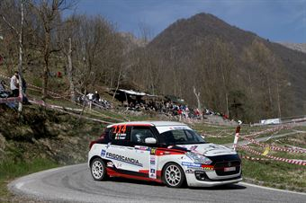 Nicola Schileo, Gianguido Furnari (Suzuki Swift R1 #114, Winners Rally Team), CAMPIONATO ITALIANO WRC