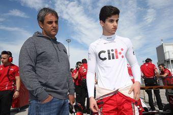 Alessandro Famularo (Prema Powerteam,Tatuus F.4 T014 Abarth #11) Pablo Montoya, ITALIAN F.4 CHAMPIONSHIP POWERED BY ABARTH