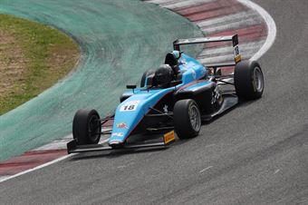 Emilio Pesce (Jenzer Motorsport,Tatuus F.4 T014 Abarth #18), ITALIAN F.4 CHAMPIONSHIP POWERED BY ABARTH