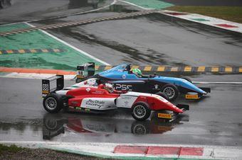 al Amna Al Qubaisi (Abu Dhabi Racing,Tatuus F.4 T014 Abarth #88)Emidio Pesce (Jenzer Motorsport,Tatuus F.4 T014 Abarth #18), ITALIAN F.4 CHAMPIONSHIP POWERED BY ABARTH