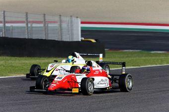 al Amna Al Qubaisi (Abu Dhabi Racing,Tatuus F.4 T014 Abarth #88)Marzio Moretti (BVM Racing,Tatuus F.4 T014 Abarth #31), ITALIAN F.4 CHAMPIONSHIP POWERED BY ABARTH