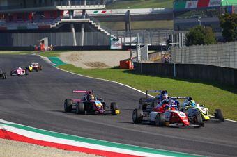 Marzio Moretti (BVM Racing,Tatuus F.4 T014 Abarth #31)al Amna Al Qubaisi (Abu Dhabi Racing,Tatuus F.4 T014 Abarth #88), ITALIAN F.4 CHAMPIONSHIP POWERED BY ABARTH