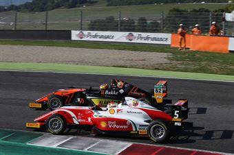 Dennis Hauger (Van Amersfoort Racing BV,Tatuus F.4 T014 Abarth #62)Gianluca Petecof (Prema Powerteam,Tatuus F.4 T014 Abarth #5), ITALIAN F.4 CHAMPIONSHIP POWERED BY ABARTH