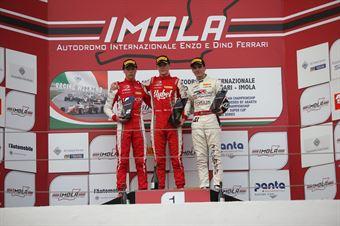 Podio Rookie gara 2, Frederik Vesti  (Prema Powerteam,F3 Tatuus 318 A.R. #2)Olli Caldwell (Prema Powerteam,F3 Tatuus 318 A.R. #64)Raul Guzman (DR Formula,F3 Tatuus 318 A.R. #41), FORMULA REGIONAL EUROPEAN CHAMPIONSHIP