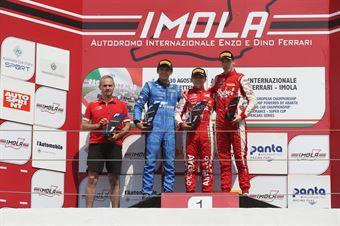 Podio gara 3 Enzo Fittipaldi (Prema Powerteam,F3 Tatuus 318 A.R. #74)Igor Fraga (DR Formula,F3 Tatuus 318 A.R. #17)Frederik Vesti  (Prema Powerteam,F3 Tatuus 318 A.R. #2), FORMULA REGIONAL EUROPEAN CHAMPIONSHIP