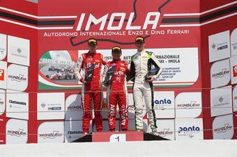 Podio Rookie gara 3 Enzo Fittipaldi (Prema Powerteam,F3 Tatuus 318 A.R. #74)Frederik Vesti  (Prema Powerteam,F3 Tatuus 318 A.R. #2)David Schumacher (US Racing,F3 Tatuus 318 A.R.#27), FORMULA REGIONAL EUROPEAN CHAMPIONSHIP