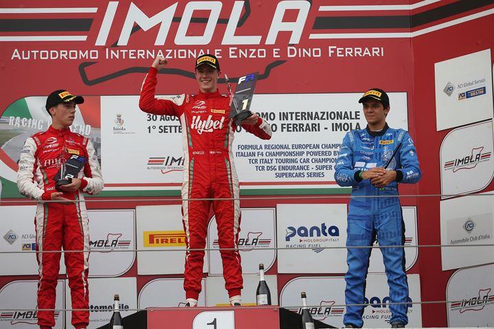 Calendario Timing.Formula Regional European Championship Formularegional