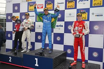 Podio gara 2 Igor Fraga (DR Formula,F3 Tatuus 318 A.R. #17) Raul Guzman (DR Formula,F3 Tatuus 318 A.R. #41)Frederik Vesti  (Prema Powerteam,F3 Tatuus 318 A.R. #2), FORMULA REGIONAL EUROPEAN CHAMPIONSHIP