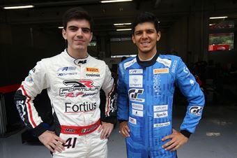Igor Fraga (DR Formula,F3 Tatuus 318 A.R. #17) Raul Guzman (DR Formula,F3 Tatuus 318 A.R. #41), FORMULA REGIONAL EUROPEAN CHAMPIONSHIP