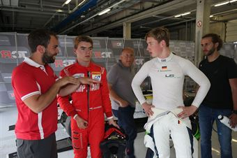 David Schumacher (US Racing,F3 Tatuus 318 A.R.#27) Tom Beckhäuser (Technorace A.S.D,F3 Tatuus 318 A.R.#95), FORMULA REGIONAL EUROPEAN CHAMPIONSHIP