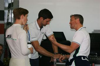 David Schumacher (US Racing,F3 Tatuus 318 A.R.#27) Ralph Schumacher, FORMULA REGIONAL EUROPEAN CHAMPIONSHIP
