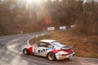 Bossalini Elia,Ratnayake Harshana(Porsche 911 scrs,Island Motorsport,#1), CAMPIONATO ITALIANO RALLY AUTO STORICHE