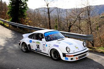 Mgm,Torlasco Marco(Porsche 911 Sc,Team Bassano,#14), CAMPIONATO ITALIANO RALLY AUTO STORICHE