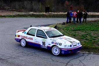 Patuzzo Nicola,Martini Alberto(Ford Sierra Cosworth,Team Bassano,#16), CAMPIONATO ITALIANO RALLY AUTO STORICHE