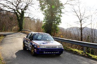 Valente Edoardo,Revenu Jeanne Francoise(Subaru Legacy,Team Bassano,#18), CAMPIONATO ITALIANO RALLY AUTO STORICHE