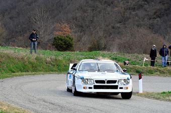 Costenaro Giovanni,Ometto Pietro Elia(Lancia Rally 037,Team Bassano,#19), CAMPIONATO ITALIANO RALLY AUTO STORICHE