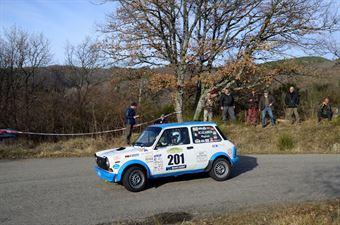 Scalabrin Raffaele,Paganoni Giulia(A112 Abarth,Team Bassano,#201), CAMPIONATO ITALIANO RALLY AUTO STORICHE