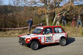 Canetti Enrico,Senestraro Marcello(A112 Abarth,Team Bassano,#202), CAMPIONATO ITALIANO RALLY AUTO STORICHE