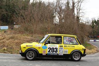 Baldo Pietro,Marcolini Davide(A112 Abarth,Team Bassano,#203), CAMPIONATO ITALIANO RALLY AUTO STORICHE