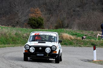 Cazzaro Nicola,Brunaporto Giovanni(A112 Abarth,Team Bassano,#205), CAMPIONATO ITALIANO RALLY AUTO STORICHE