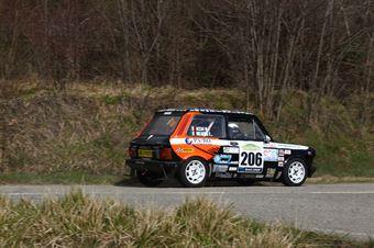 Mearini Francesco,Acciai Massimo(A112 Abarth,Etruria Racing,#206), CAMPIONATO ITALIANO RALLY AUTO STORICHE