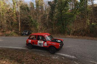 Quercioli Andrea,Severino Giorgio(A112 Abarth,Romei Sport,#207), CAMPIONATO ITALIANO RALLY AUTO STORICHE