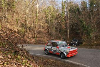 Raviglione Paolo,Rappoldi Alessandro(A112 Abarth,Nordovest Racing,#208), CAMPIONATO ITALIANO RALLY AUTO STORICHE