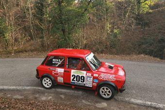 Battistel Lorenzo,Rech Denis(A112 Abarth,Team Bassano,#209), CAMPIONATO ITALIANO RALLY AUTO STORICHE