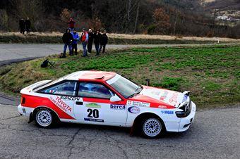 Mano Sergio,Aivano Flavio(Toyota Celica st165,Meteco Corse,#20), CAMPIONATO ITALIANO RALLY AUTO STORICHE