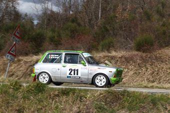 Dall Avo Marco Gino,Piras Manuel(A112 Abarth,Promoservice,#211), CAMPIONATO ITALIANO RALLY AUTO STORICHE