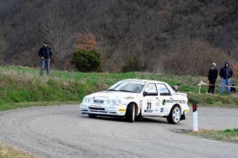 Barsanti Pier Giorgio,Pollini Cristian(Ford Sierra Cosworth,Costa Ovest,#21), CAMPIONATO ITALIANO RALLY AUTO STORICHE