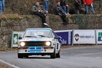 Vicario Dino,Frasson Marina(Ford Escort Rs,Rally&co,#22), CAMPIONATO ITALIANO RALLY AUTO STORICHE