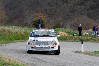 Luise MAtteo,Ferro Melissa(Fiat Ritmo 130,Team Bassano,#23), CAMPIONATO ITALIANO RALLY AUTO STORICHE
