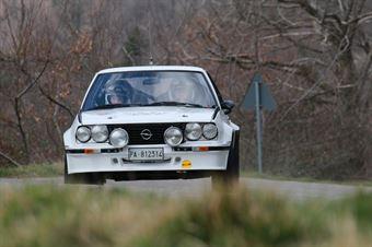 Bertelli Marco,Masini Claudia(Opel Ascona 400,Etruria racing,#24), CAMPIONATO ITALIANO RALLY AUTO STORICHE