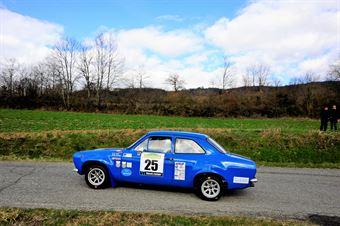 Righi Rino,Iacolutti Mauro(Ford Escort rs,Team Bassano,#25), CAMPIONATO ITALIANO RALLY AUTO STORICHE