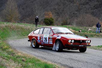 Bucci Riccardo,Di Silvestri Elisa(Alfa Romeo Gtv,Malatesta,#26), CAMPIONATO ITALIANO RALLY AUTO STORICHE