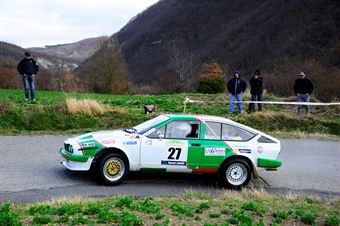 Righi Eraldo,Signorini Gian Leone(Alfa Romeo Gtv,Malatesta,#27), CAMPIONATO ITALIANO RALLY AUTO STORICHE