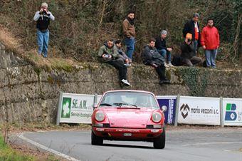 Parisi Antoni,D Angelo Giuseppe((Porsche 911 S,Isola Vicentina,#29), CAMPIONATO ITALIANO RALLY AUTO STORICHE