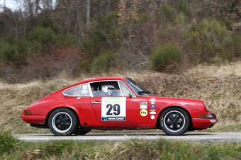 Parisi Antonio,D Angelo Giuseppe((Porsche 911 S,Isola Vicentina,#29), CAMPIONATO ITALIANO RALLY AUTO STORICHE