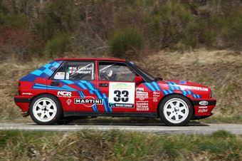 Nassani Fabio,Labirinti Matteo(Lancia Delta Integrale,Piacenza Corse,#33), CAMPIONATO ITALIANO RALLY AUTO STORICHE