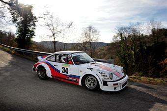 Guglielmi Giulio,Refondini Sara(Porsche 911sc,Omega,#34), CAMPIONATO ITALIANO RALLY AUTO STORICHE
