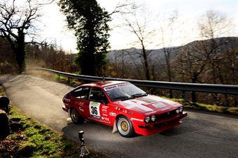 Solfa Michele,Salgaro Nicol(Alfa Romeo Gtv,Omega,#36), CAMPIONATO ITALIANO RALLY AUTO STORICHE