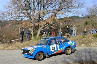 Anziliero Valter,Berra Anna(Ford Escort Rs,Biella Motor Team,#37), CAMPIONATO ITALIANO RALLY AUTO STORICHE