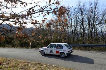 Vezzi Luca,Orietti Michele(Vw Golf Gti,Monselice Corse,#38), CAMPIONATO ITALIANO RALLY AUTO STORICHE